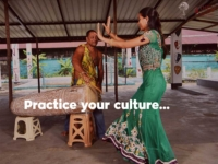 Practice your culture ...